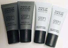 x4 Make Up For Ever Step 1 Skin Equalizer Hydrating Smoothing Primer .16 oz Mini