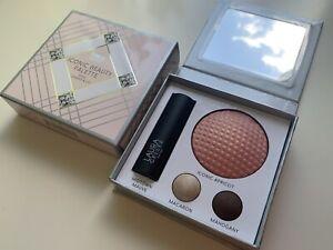 Laura Geller Iconic Beauty Palette Eyeshadow Blush & Midtown Mauve Lipstick