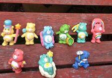 Care Bears Plastic PVC Figures Toys Retro Job Lot 80'S