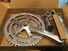 Campagnolo Veloce Triple Cranks and Bottom Bracket,170mm,English BB
