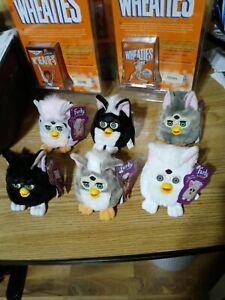 Furby Buddies Plush set of 6 1999 vintage
