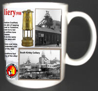 SOUTH KIRKBY COLLIERY COAL MINE MUG LIMITED EDITION WEST YORKSHIRE MINERS GIFT
