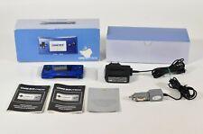 Nintendo Game Boy Micro azul/Blue, oxy-001, embalaje original, CIB, muy buen estado