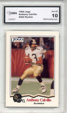 1994 Anthony Calvillo CFL JOGO Rookie Gem Mint 10 #202