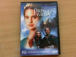 The Princess Bride Robin Wright Cary Elwes Mandy Patinkin (DVD 1987) R4 GC