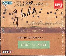 Ingo METZMACHER Signiert LUIGI NONO: PROMETEO Tragedia dell'ascolto 2CD Live 93