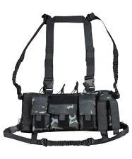 Trojan Tactical Chest Rig Utility Vest Pistol Mag GPS Army Coyote BTP Black