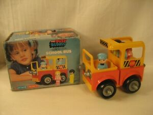 VINTAGE BUDDY L BUSY BUDDYS SCHOOL BUS WITH BOX COMPLETE JAPAN