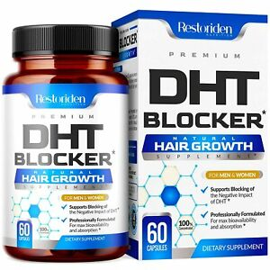 DHT Blocker Premium Hair Loss Supplement Hair Growth Regrowth Treatment