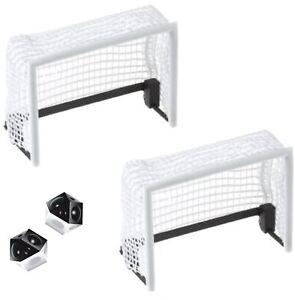 TIPP-KICK Netztore 2 Stück Tor Set zwei Tore mit Textilnetz und 2 Bälle