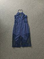 Bardot Gorgeous Navy Blue Lace Dress Size 8 RRP$179