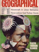 the geographical magazine-SEPT 1967-PEACEFUL TROBRIAND ISLANDERS.