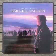 Vtg Lars Berghagen Nara Till Naturen LP vinyl record album Swedish folk lasse