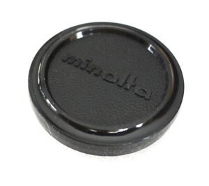 52mm Minolta Lens Cap - Genuine - Plastic Slip On - NEW