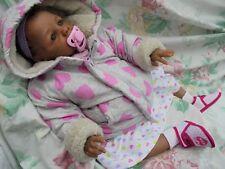 "Reborn Biracial Baby * Kyra Love * 20"" 6lb Eva Helland sculpt biracial baby girl"