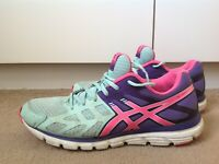 Asics Trainers. UK 8. Asics Gel Zaraca 3 Running Shoes/Trainers.