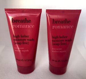 Bath and Body Works High Moisture Wash (soap free) Breath Romance 1.7 fl Oz 2