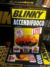n 1 conf. 48 CUBETTI BLINKY ACCENDIFUOCO ORIGINALE camini,stufe, barbecue,forni