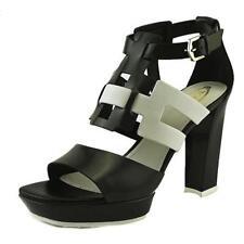 Sandali e scarpe Hogan nero per il mare da donna 100% pelle