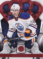 13-14 Crown Royale Jordan Eberle /99 RED Parallel Oilers 2013