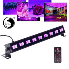 27W 9 LED UV Black Stage Lighting Wall Wash Lights Bar Disco Party DJ Lights