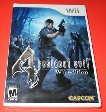 Resident Evil 4 -- Wii Edition  - Nintendo Wii *Factory Sealed! Free Shipping!
