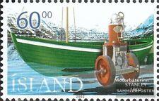 Island 1002 (kompl.Ausg.) postfrisch 2002 Motorboote