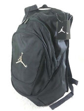 NWT NIKE AIR JORDAN BOY MEN BLACK LOGO  BASKETBALL BACKPACK LAPTOP BAG