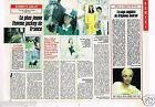 Coupure de presse Clipping 1989 (1 page 1/2) Marie Courrèges femme jockey