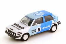 1:87 VW Volkswagen Golf II GTI Lacs 1987 Olivetti Numéro 5 - herpa 3569
