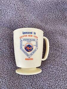 1977 Mets Welcome Home Dinner plastic mug