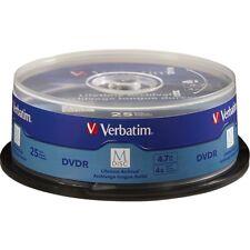 Verbatim Dvd Recordable Media - Dvd-r - 4x - 4.70 Gb - 25 Pack Spindle - 120mm -