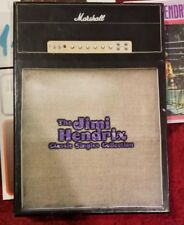 """JIMI HENDRIX """" CLASSIC SINGLES LIMITED #5118 45 RPM 20 SONGS ON 11 SINGLES BOXED"""