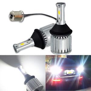 G4 AUTOMOTIVE 2x 1141 1156 LED Reverse Light Extremely Bright Back Up Bulb White