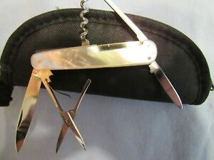 Vintage Wilh.. Bruckmann Rare High End Multi Blade. Pre WWII Unused. Excellent
