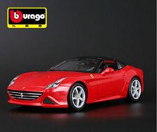 Véhicules miniatures rouge Ferrari 1:8