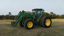 John Deere Tractor 7810 Mfwd With Loader