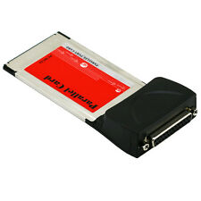 PCMCIA Card to High Speed Laptop Parallel Printer LPT Port DB25 Cardbus Adapter