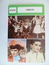 CARTE FICHE CINEMA  JOSELITO