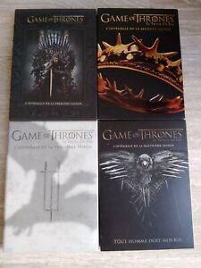 dvd game of thrones saison 1,2,3,4 complet version fr etat tbe 23 cd