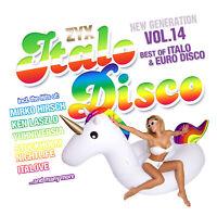 CD ZYX Italo Disco New Generation Vol.14 von Various Artists 2CDs