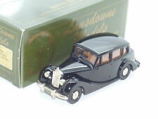 New 1:43 Lansdowne Models LDMX1 1954 Triumph Renown Dealer Limited Edition black