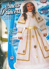 ABITO VESTITO COSTUME DI CARNEVALE, Principessa delle nevi (3-4 ANNI) WIDMANN