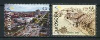 Kosovo 2018 MNH Gjilan Gjilane Gjilani 2v Set Tourism Architecture Stamps