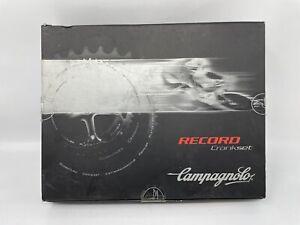 NOS Campagnolo RECORD 10 Speed Alloy Square Taper Crank 170 53/39 NEW IN BOX