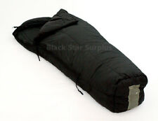 US Military Surplus Cold Weather Sleeping Bag 30 to -10°- Used, Black, Regular