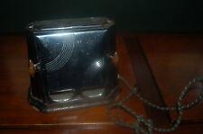 ANTIQUE ART DECO 1930's SON-CHIEF ELECTRIC TOASTER Black & Chrome Series 680