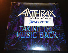 """New! ANTHRAX """"Taking The Music Back"""" (Promo DVD 2003) Safe Home ***SEALED*** OOP"""