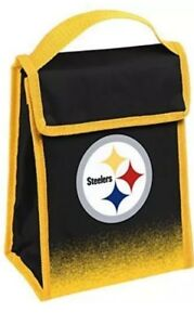 NFL Pittsburgh Steelers Insulated Lunch Bag