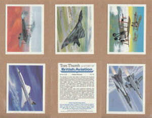 Players / Tom Thumb - History Of British Aviation (1988) - Type Cards/Odds